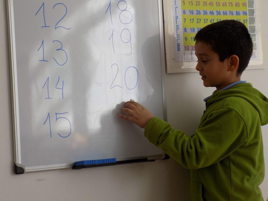 matematika - pishem do 20