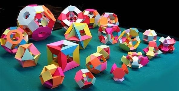 3D УМ – геометрия с оригами, как да научим стериометрията