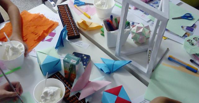 Оригами и пространственото мислене при децата