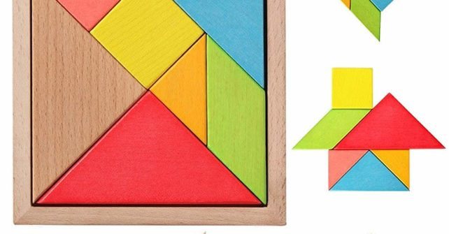 Танграм -пространствен пъзел за игра