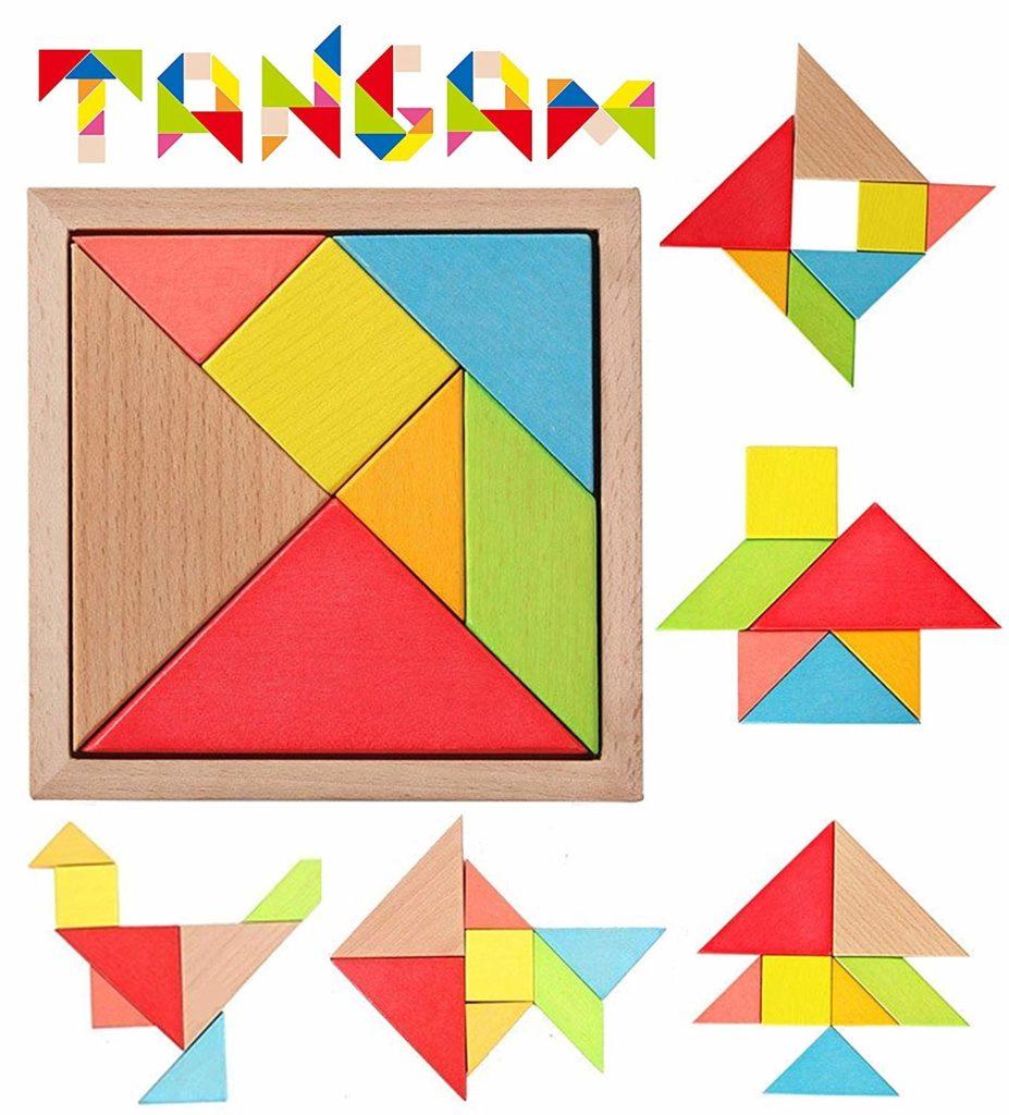пространствен пъзел танграм